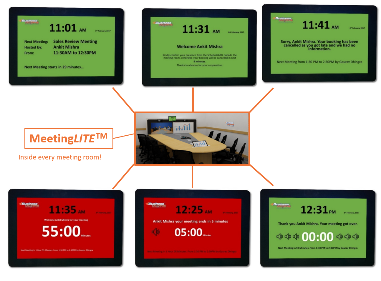 Meeting LITE - Meeting Room Timer