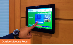 SchedulGARDLite - Oustside meeting room reservation system