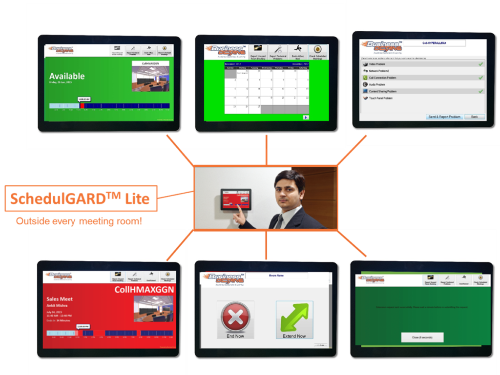 SchedulGARDlite - Check the avalablity of your meeting rooms